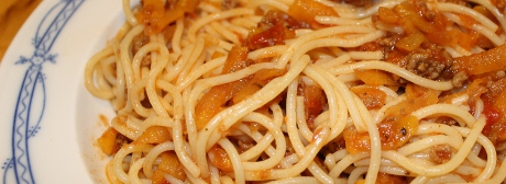 Steckrbenbolognese