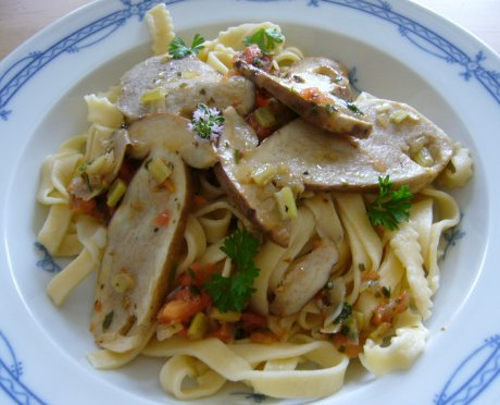 Tagliatelle mit Steinpilzen