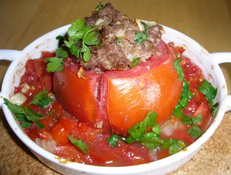 gefüllte Tomate