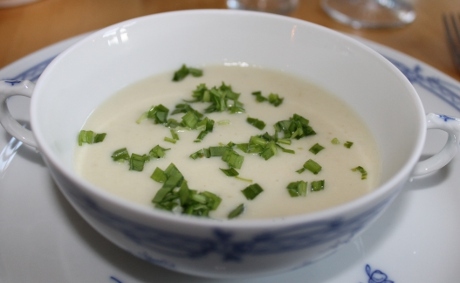 Topinambur-Creme-Suppe