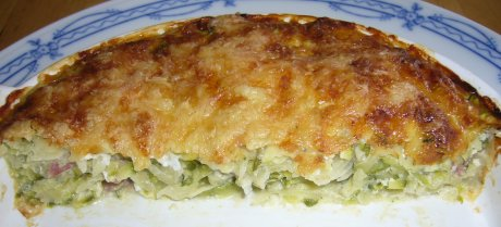 Zucchini-Kartoffelgratin