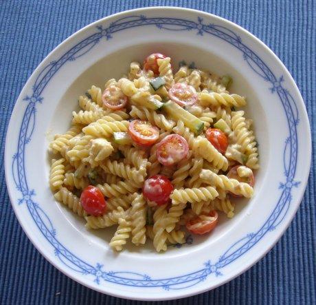 Zucchini-Schafskäse-Sauce