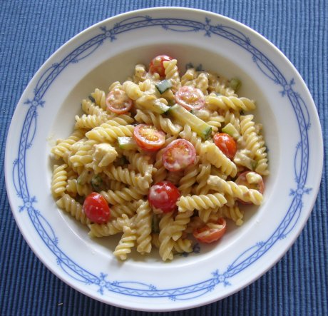 Zucchini-Schafsk�se-Sauce