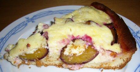 Zwetschgenkuchen mit Quarkguss