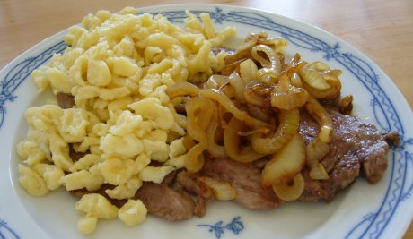 Zwiebelrostbraten